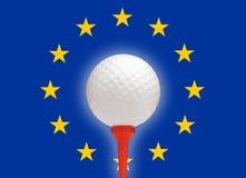 欧洲高尔夫球 免版税库存图片