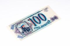 欧洲currancy钞票100俄语 免版税库存照片