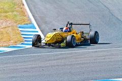 欧洲F3冠军, 2011年 免版税库存图片