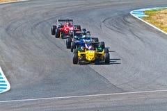 欧洲F3冠军, 2011年 免版税库存照片