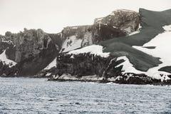 欺骗岛,南设得兰群岛群岛,西北 库存照片