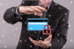 付款安全的概念 库存照片
