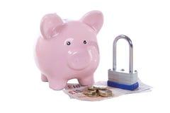 付款或金融证券概念 免版税图库摄影