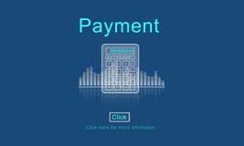 付款有益于簿记预算发薪日概念 库存例证