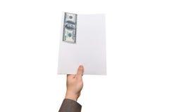 贿款概念 免版税库存照片