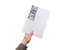 贿款概念 库存图片