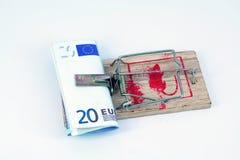 贷款风险 库存照片