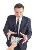 贿款 免版税库存图片