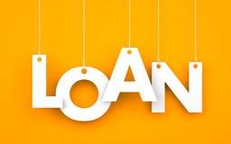 贷款 库存图片