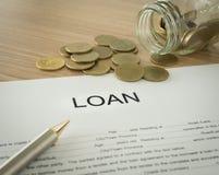贷款 免版税图库摄影