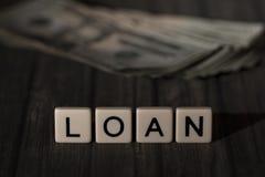 贷款 免版税库存图片