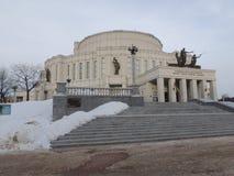 歌剧和芭蕾剧院  免版税库存照片