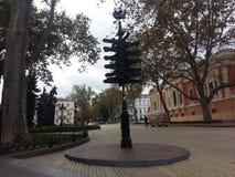 歌剧和芭蕾房子傲德萨乌克兰 免版税库存图片