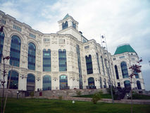 歌剧和芭蕾房子在阿斯特拉罕,俄罗斯 免版税库存照片