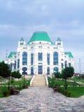 歌剧和芭蕾房子在阿斯特拉罕,俄罗斯 库存照片