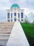 歌剧和芭蕾房子的看法在阿斯特拉罕, R 图库摄影