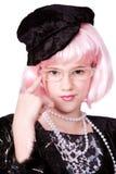 歌剧女主角specs 库存图片
