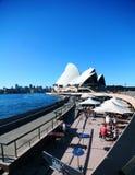 歌剧悉尼 免版税库存图片