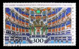 歌剧拜罗伊特, 250th Anniv 拜罗伊特歌剧院serie,大约1998年 免版税库存图片