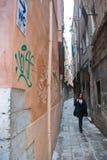 歌剧票销售威尼斯,意大利 免版税库存图片