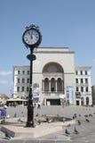 歌剧院在蒂米什瓦拉,罗马尼亚 库存图片