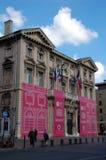 歌剧院在马赛 免版税库存照片