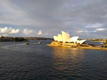 歌剧院悉尼澳大利亚 免版税库存图片