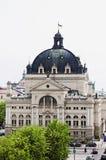 歌剧院的看法在Lvov 库存图片