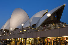 歌剧院,悉尼,澳大利亚 库存照片