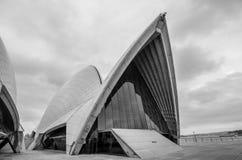 歌剧院,悉尼,澳大利亚 免版税图库摄影