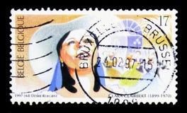 歌剧,克拉拉Clairbert, serie,大约1997年 免版税库存图片