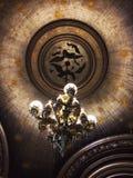 歌剧Ganier巴黎法国天花板  免版税库存照片