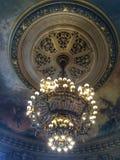 歌剧Ganier巴黎法国天花板  免版税库存图片