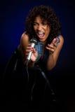 歌唱家 图库摄影