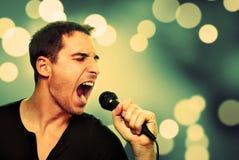 歌唱家 免版税库存照片