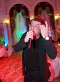歌手和作曲家伊戈尔Kornelyuk -关于俱乐部场面反坐法的声明 免版税库存图片