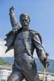歌手弗雷迪・默丘里,蒙特勒,瑞士的纪念碑 免版税图库摄影