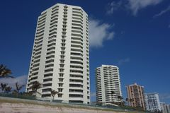 歌手海岛的,佛罗里达豪华公寓 库存照片