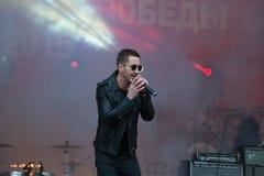 歌手谢尔盖Prikazchikov 库存图片