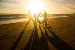 阻止太阳 免版税图库摄影