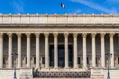 正义利昂宫殿  免版税库存图片