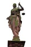 正义夫人雕象 库存图片