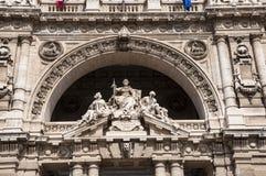 正义宫殿在罗马,意大利 免版税库存照片