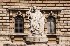 正义宫殿在罗马,意大利 库存图片