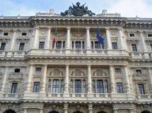 正义宫殿在罗马 免版税库存照片