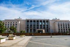 正义宫殿在巴勒莫,意大利 免版税库存照片