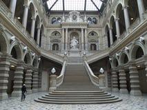 正义宫殿维也纳 免版税库存图片
