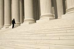 正义寻找 免版税库存图片