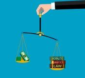 正义的符号 免版税图库摄影
