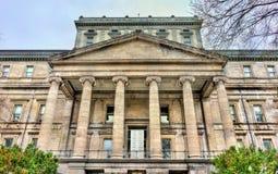 正义老宫殿在蒙特利尔,加拿大 库存图片